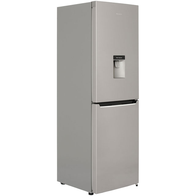 Hisense RB381N4WC1 50/50 Frost Free Fridge Freezer - Stainless Steel Effect - A+ Rated