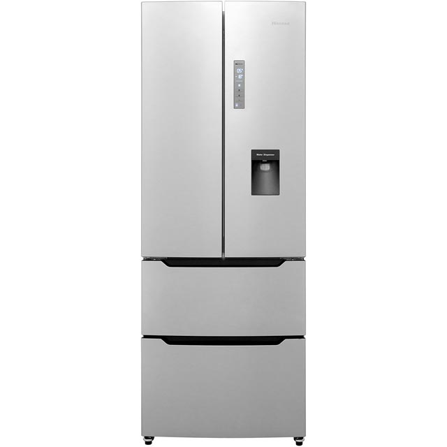 Hisense RF528N4WC1 American Fridge Freezer - Stainless Steel Effect - A+ Rated - RF528N4WC1_SSL - 1