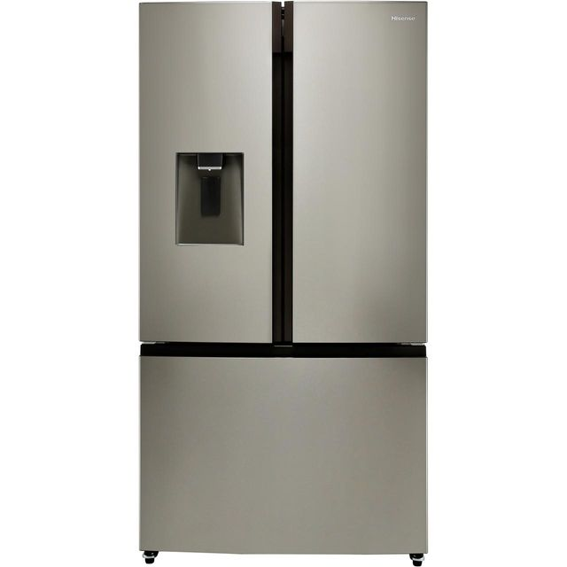Hisense RF702N4IS1 American Fridge Freezer - Stainless Steel - A+ Rated