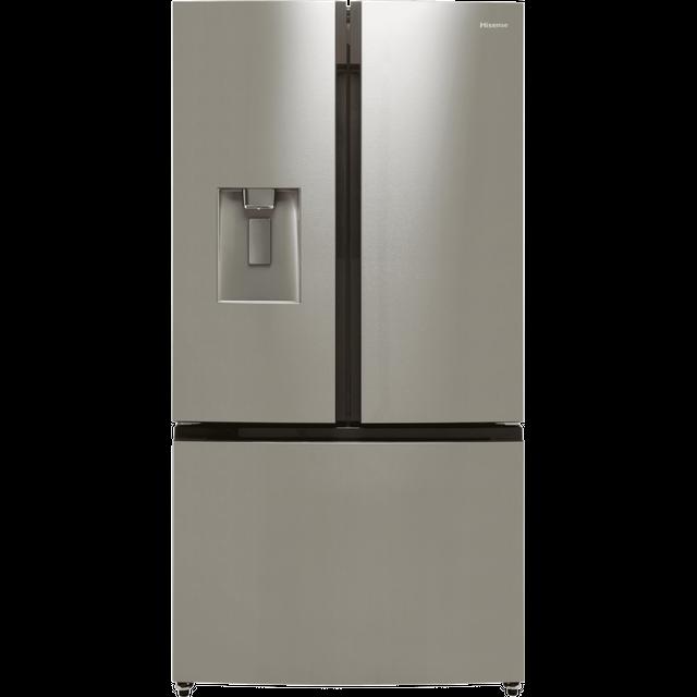 Hisense RF750N4ISF American Fridge Freezer - Stainless Steel - F Rated
