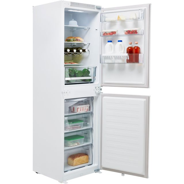 Hisense RIB291F4AW1 Built In 50/50 Frost Free Fridge Freezer - White - RIB291F4AW1_WH - 1