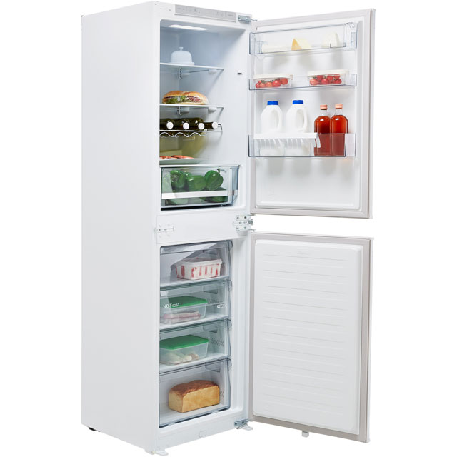 Hisense RIB291F4AW1 Integrated 50/50 Frost Free Fridge Freezer with Sliding Door Fixing Kit - White - A+ Rated - RIB291F4AW1_WH - 1