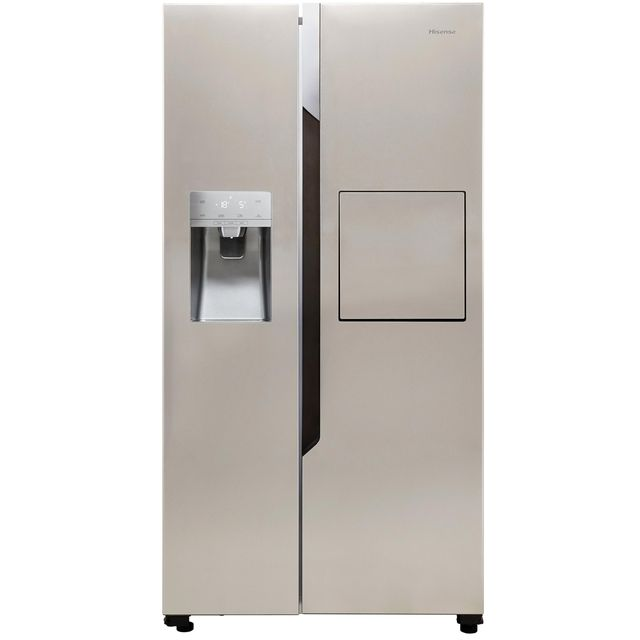 Hisense RS694N4BC1 American Fridge Freezer - Stainless Steel Effect - A+ Rated - RS694N4BC1_SS - 1