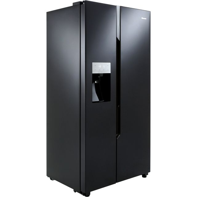 Hisense RS694N4TB1 American Fridge Freezer - Black - RS694N4TB1_BK - 2