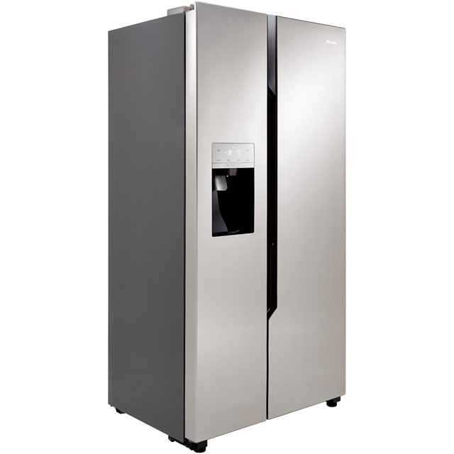 Hisense RS694N4TC1 American Fridge Freezer - Stainless Steel Effect - A+ Rated - RS694N4TC1_SSL - 1