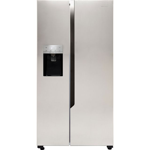 Hisense RS694N4TC1 American Fridge Freezer - Stainless Steel Effect - RS694N4TC1_SSL - 1