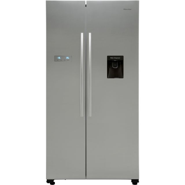 Hisense RS741N4WC11 American Fridge Freezer - Stainless Steel Effect - RS741N4WC11_SS - 1