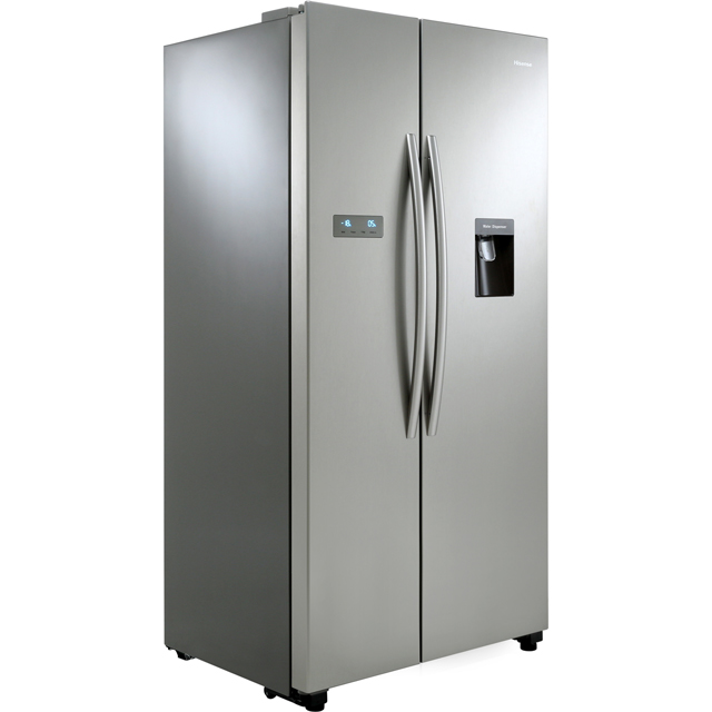 Hisense RS741N4WC11 American Fridge Freezer - Stainless Steel Effect - RS741N4WC11_SS - 2
