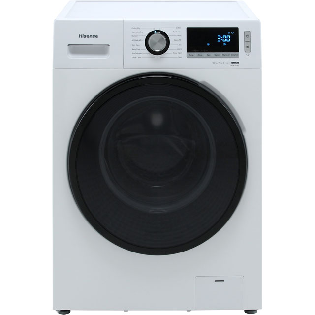 Hisense WDBL1014V 10Kg / 7Kg Washer Dryer - White - WDBL1014V_WH - 1