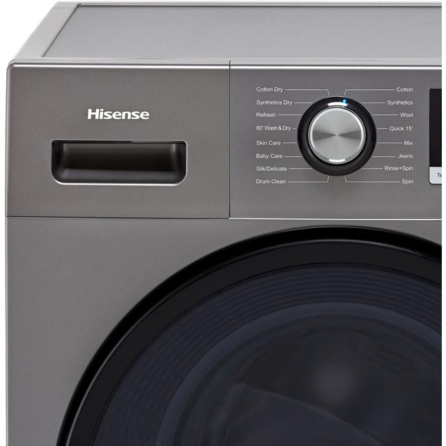 Hisense WDBL1014V 10Kg / 7Kg Washer Dryer - White - WDBL1014V_WH - 2