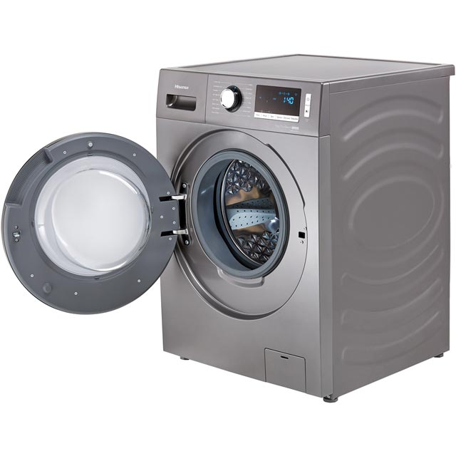 Hisense WDBL1014V 10Kg / 7Kg Washer Dryer - White - WDBL1014V_WH - 4