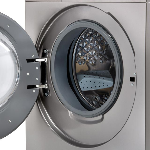 Hisense WDBL1014V 10Kg / 7Kg Washer Dryer - White - WDBL1014V_WH - 5