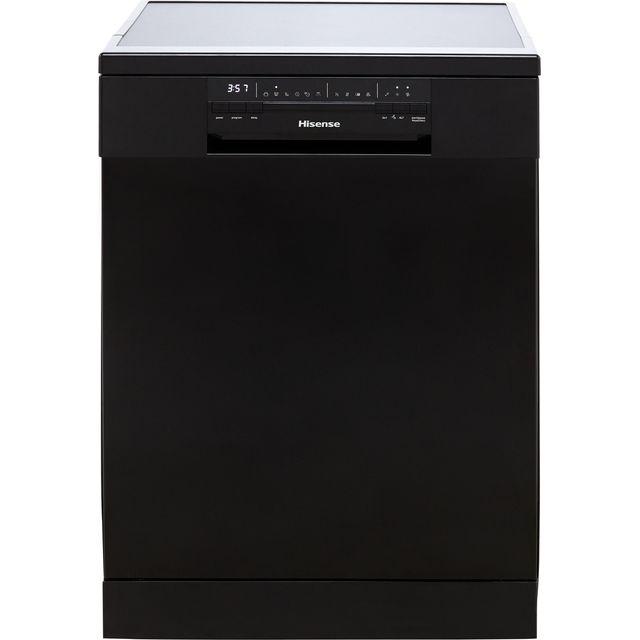 Hisense HS60240BUK Standard Dishwasher - Black - E Rated