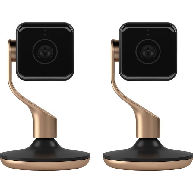 Hive View Camera (Twin Pack) -Full HD 1080p - Black - HIVE2PKVIEWBLK - 1