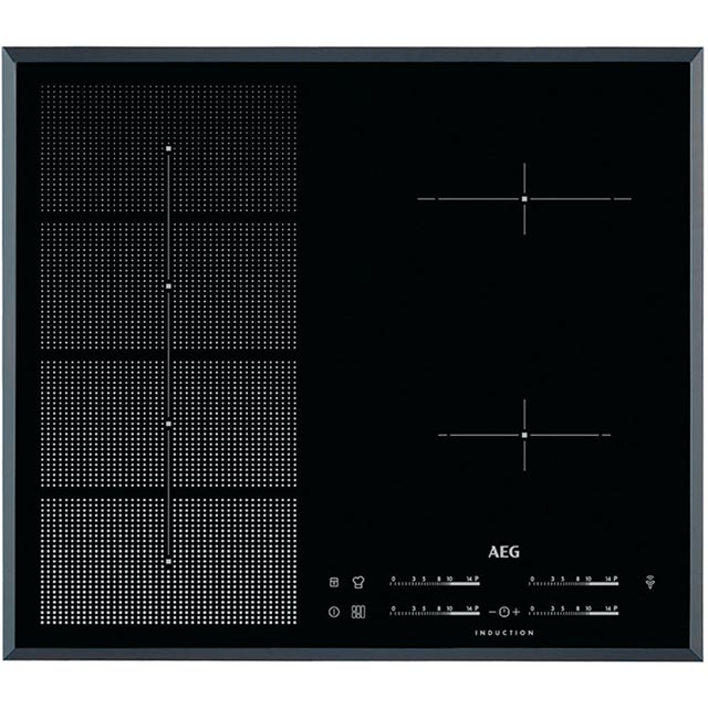 AEG HKP65410FB 59cm Induction Hob - Black