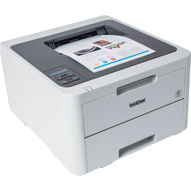Brother HL-L3210CW LED Printer - White