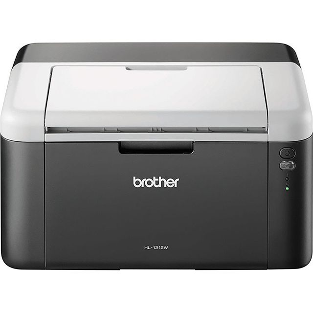 Brother HL-1212W Mono Laser Printer, All In Box Bundle, Wireless and PC Connected, Print, A4, Up To 3 Years Worth of Printing Best Price and Cheapest