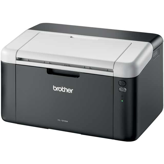 Brother HL-1212W Compact Wireless Mono Laser Printer - Black - HL1212WZU1 - 1