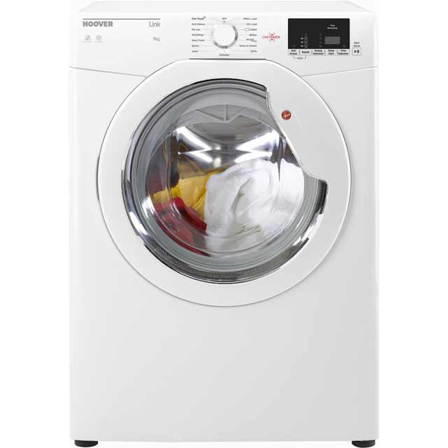 Hoover Dynamic Next HLV9DG Free Standing Vented Tumble Dryer in White