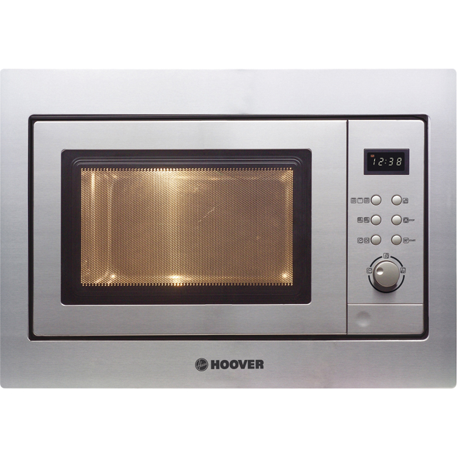 Hoover HM20GX Built In Microwave With Grill - Stainless Steel - HM20GX_SS - 1