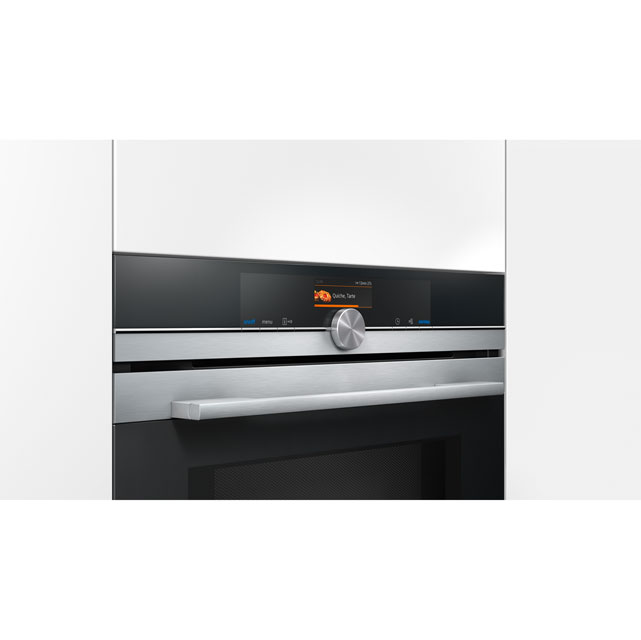 Siemens IQ-700 HM676G0S6B Built In Electric Single Oven - Stainless Steel - HM676G0S6B_SS - 5
