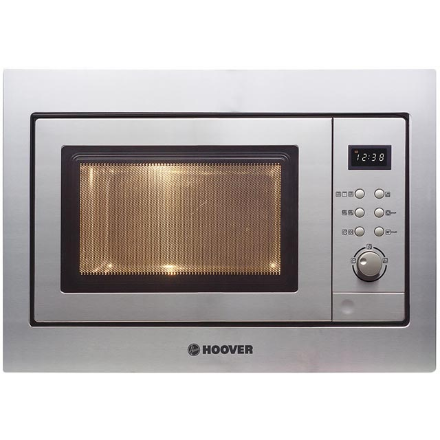 Hoover HMG171X Built In Microwave With Grill - Stainless Steel