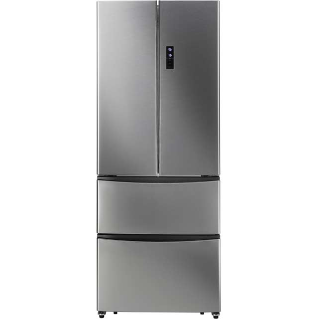 Hoover Dynamic 4x4 HMN7182IX American Fridge Freezer - Stainless Steel