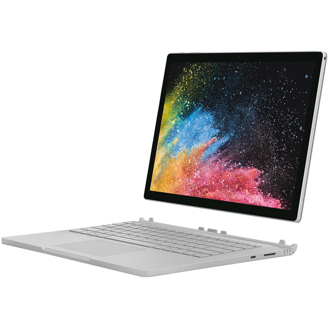 "Microsoft Surface Book 2 13.5"" 2-in-1 Laptop - Silver - HN4-00003 - 1"