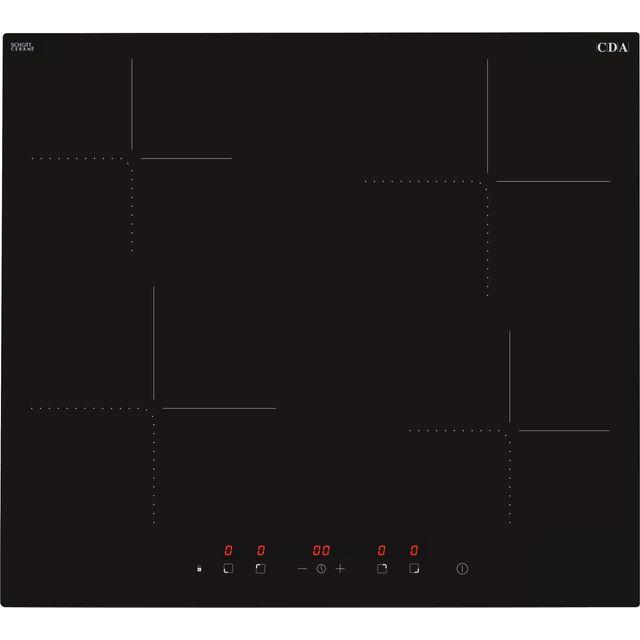 CDA HN6412FR 58cm Induction Hob - Black