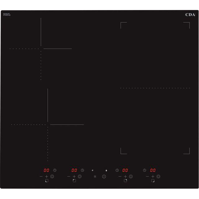 CDA HN6732FR 58cm Induction Hob – Black