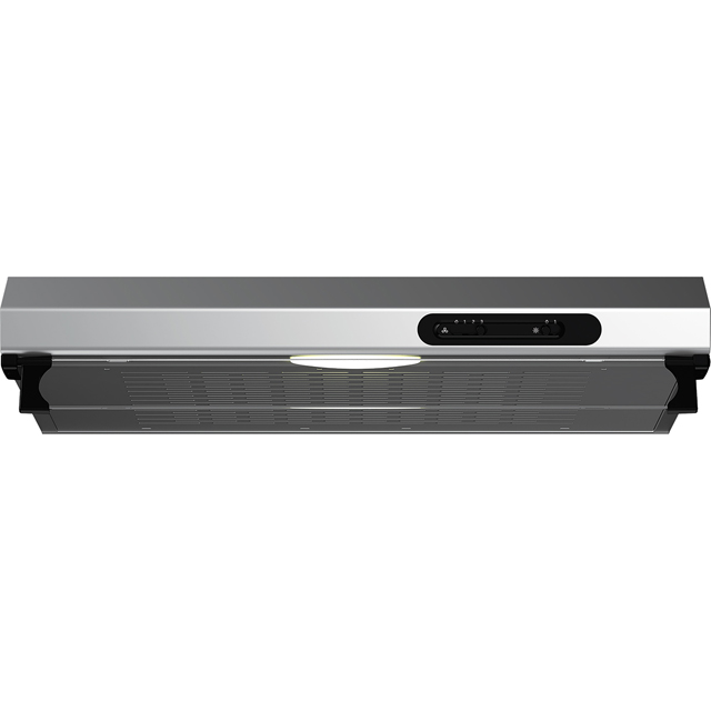 Beko 60 cm Visor Cooker Hood - Stainless Steel - D Rated