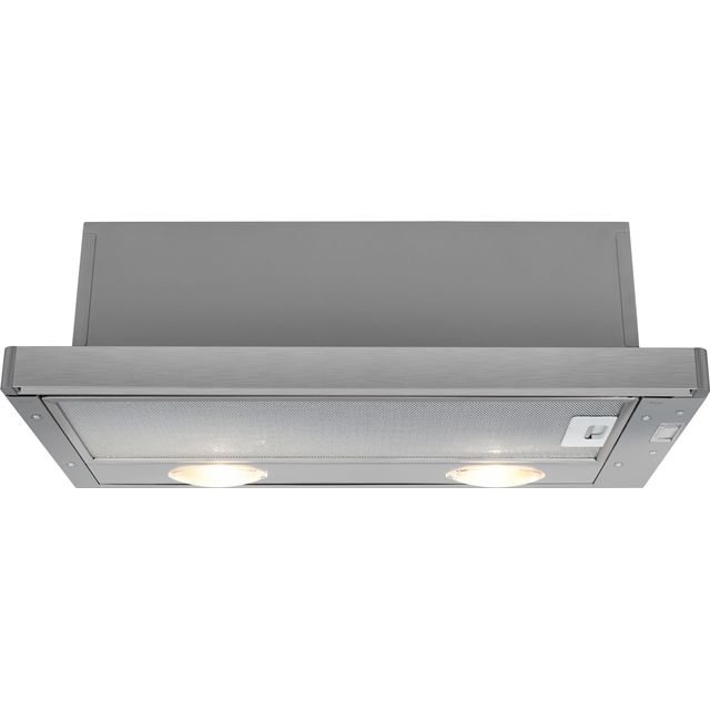 Beko HNT61210X 60 cm Telescopic Cooker Hood - Stainless Steel - E Rated - HNT61210X_SS - 1