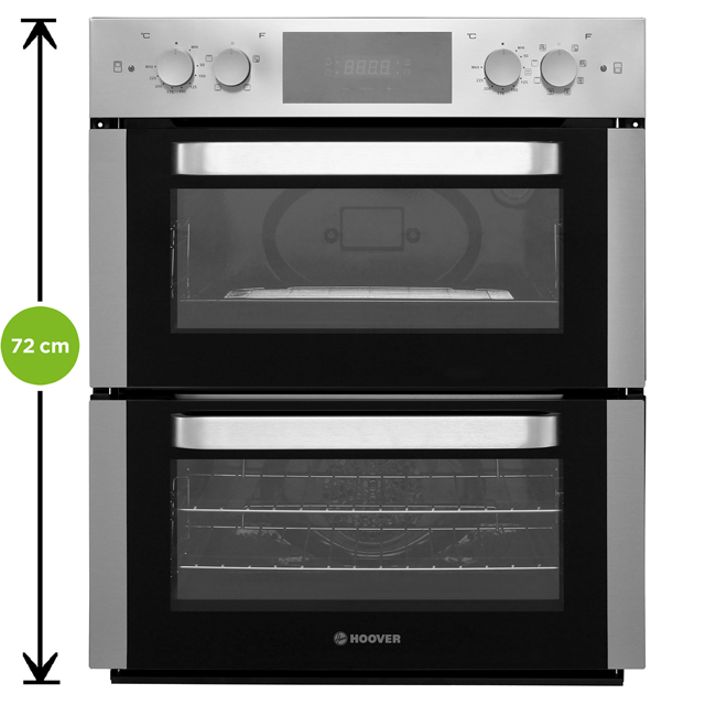 Hoover HO48D42IN Built Under Double Oven - Stainless Steel - HO48D42IN_SS - 2