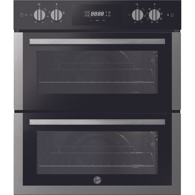 Hoover H-OVEN 300 HO7DC3UB308BI Built Under Electric Double Oven - Black / Stainless Steel - HO7DC3UB308BI_BSS - 1