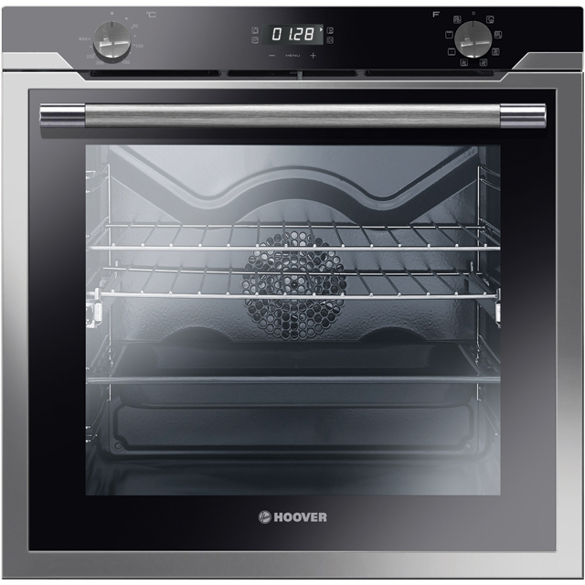 Hoover HOAZ7150IN/E Built In Electric Single Oven - Stainless Steel - A Rated - HOAZ7150IN/E_SS - 1