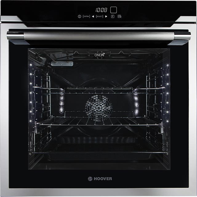 Hoover Vogue HOAZ7173IN Integrated Single Oven in Stainless Steel