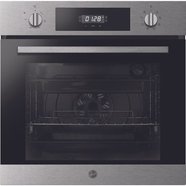 Hoover H-OVEN 300 HOC3BF3058IN Built In Electric Single Oven - Stainless Steel - HOC3BF3058IN_SS - 1