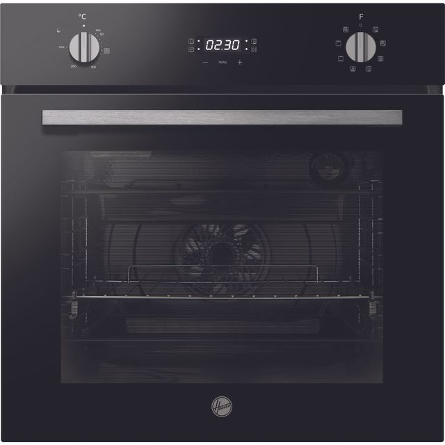 Hoover H-OVEN 300 HOC3UB3158BI Built In Electric Single Oven - Black - HOC3UB3158BI_BK - 1