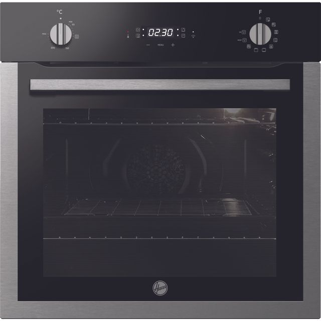 Hoover H-OVEN 300 Electric Single Oven - Black / Stainless Steel - A+ Rated