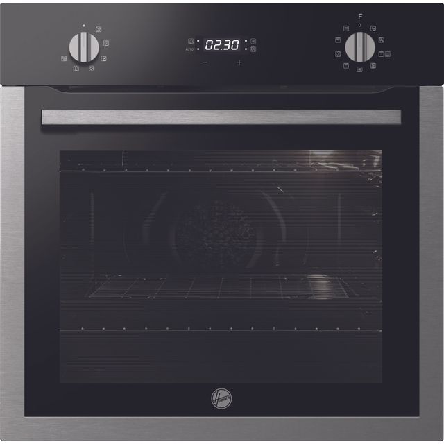 Hoover H-OVEN 300 HOC3UB5858BI Built In Electric Single Oven - Black / Stainless Steel - HOC3UB5858BI_BSS - 1
