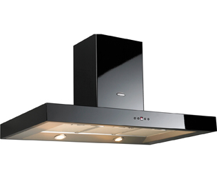 Britannia Arioso 100 cm Chimney Cooker Hood - Black - C Rated