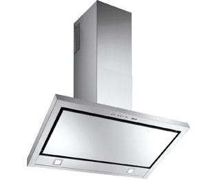 BEST Etna 90 cm Chimney Cooker Hood - Stainless Steel - C Rated