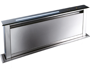 BEST Lift HOOD-BE-LI-90-SS 85 cm Downdraft Cooker Hood - Stainless Steel - C Rated - HOOD-BE-LI-90-SS_SS - 1