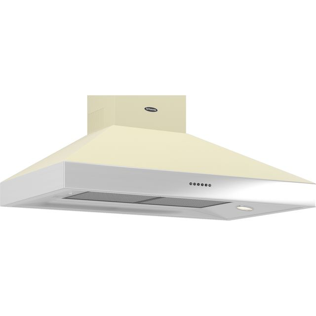 Britannia Latour 100 cm Chimney Cooker Hood - Cream - A Rated