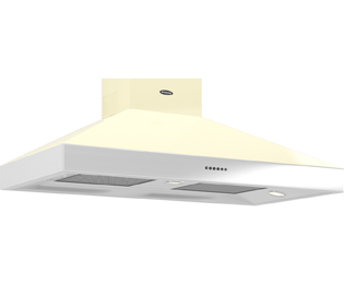 Britannia Latour HOOD-BTH110-GC 110 cm Chimney Cooker Hood - Gloss Cream - A Rated