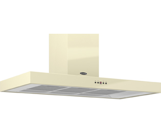 Britannia Arioso HOOD-K7088A10-C 100 cm Chimney Cooker Hood - Cream - C Rated - HOOD-K7088A10-C_CR - 1