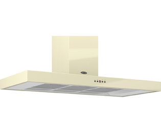 Britannia Arioso HOOD-K7088A11-C 110 cm Chimney Cooker Hood - Cream - C Rated - HOOD-K7088A11-C_CR - 1