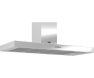 Britannia Arioso HOOD-K7088A12-S 120 cm Chimney Cooker Hood - Stainless Steel - C Rated
