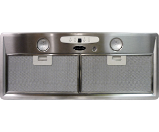 Britannia Intimo HOOD-P780-70A 70 cm Canopy Cooker Hood - Stainless Steel - C Rated - HOOD-P780-70A_SS - 1