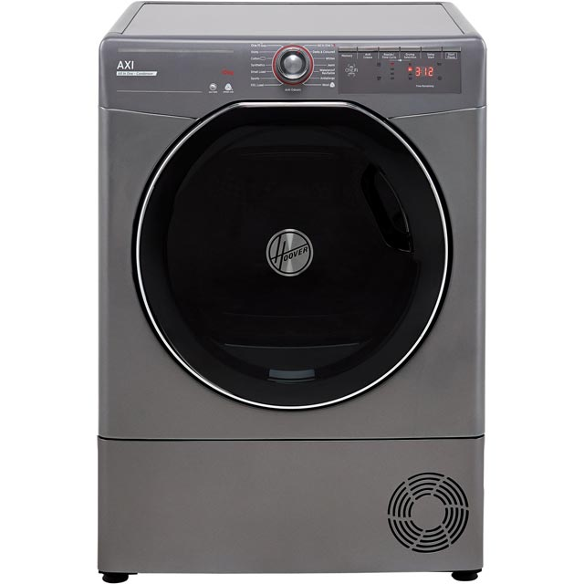 Hoover AXI ATDC10TKERX Wifi Connected 10Kg Condenser Tumble Dryer - Graphite - B Rated - ATDC10TKERX_GH - 1